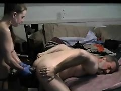 Chic Fists and Sticks Monster Cock Up Old Guys Ass