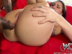 WCPClub Teen Babe goes anal wide for a BBC